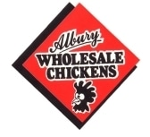 Albury Wholesale Chickens Logo